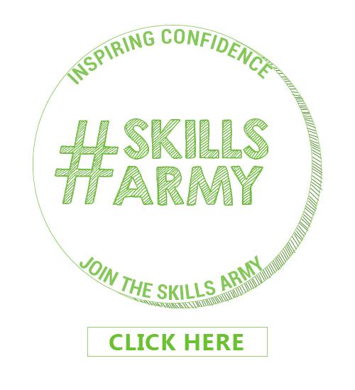 Skills army badge
